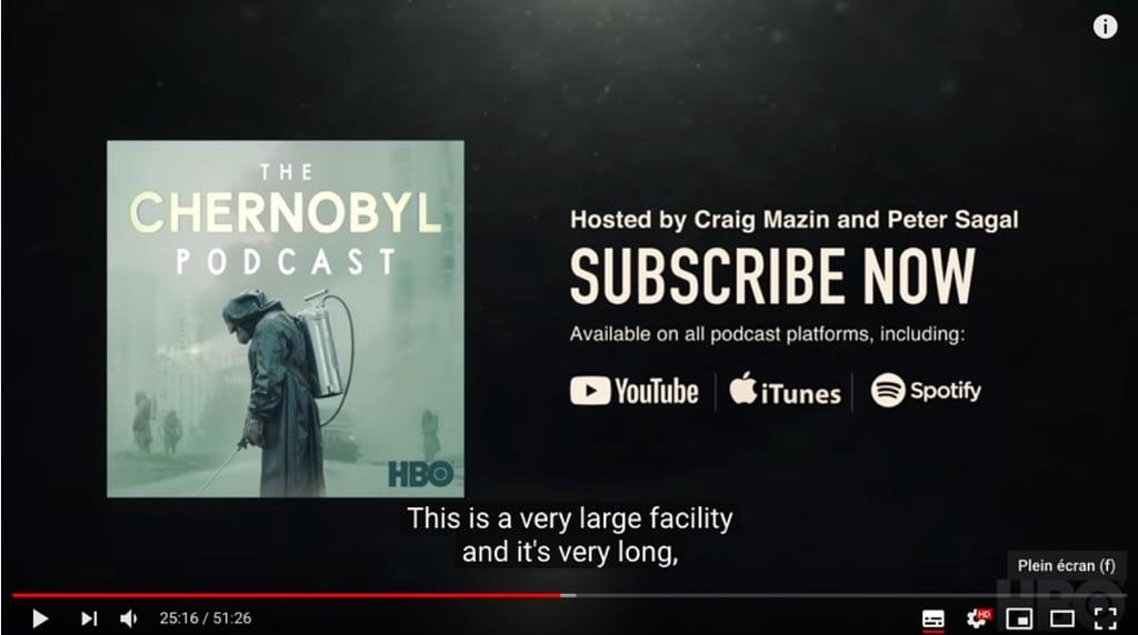 YouTube Podcast Still Image