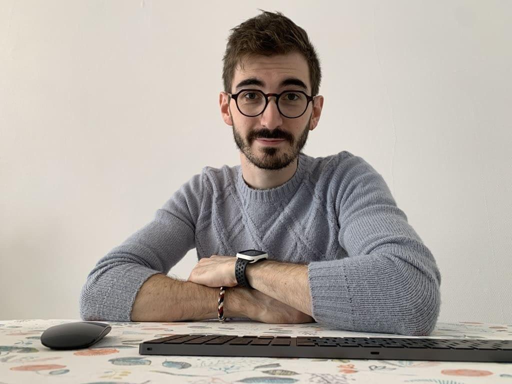 Corentin, développeur web chez Ausha