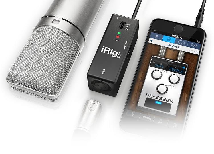 iRig Pre Podcast