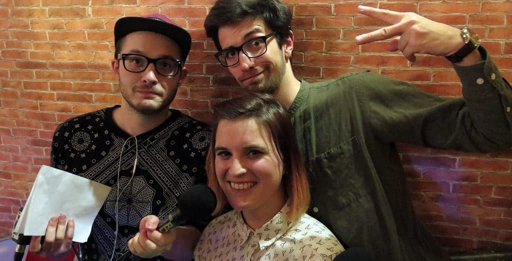 """Ausha Talk #2 : Rencontre avec Karen et Stéphane, créateurs du podcast """"Dans ton rade"""""""