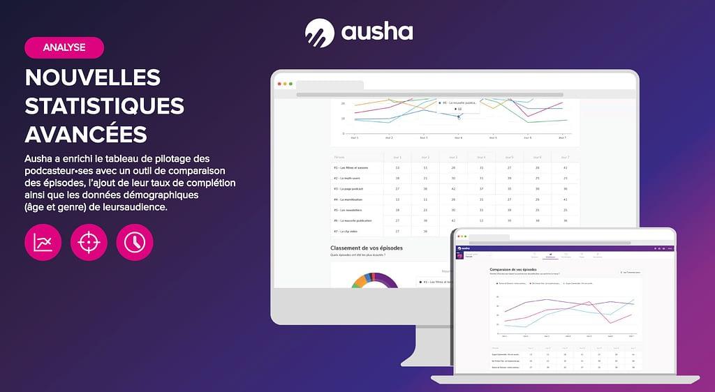 nouvelles statistiques Ausha