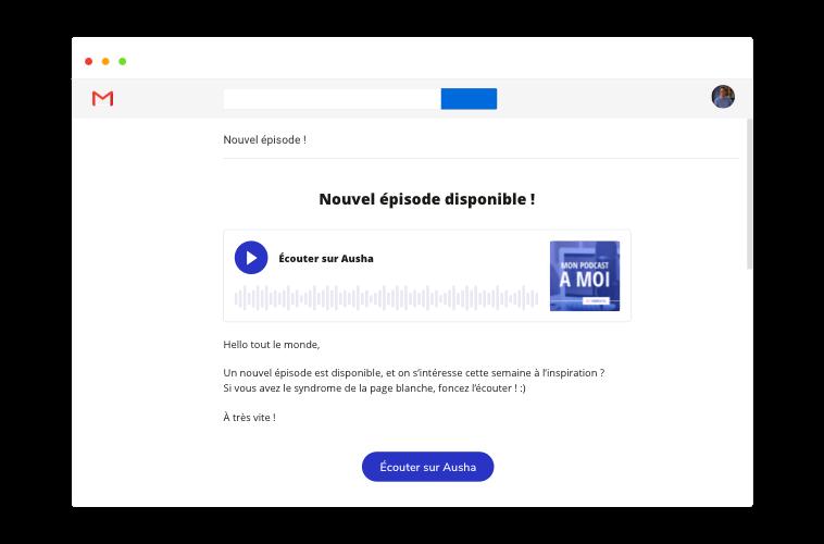 Newsletter de votre podcast Ausha