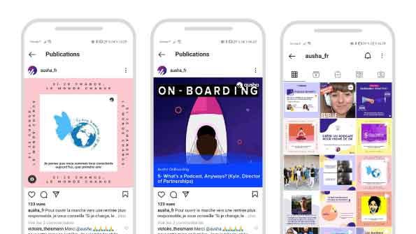Connecter Instagram à Ausha